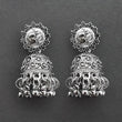 Jeweljunk Oxidised Plated Jhumki Earrings  -1315031