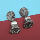 Jeweljunk Oxidised Plated Jhumki Earrings  -1315311