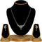Tip Top Fashions AD Stone Black Beads Mangalsutra Set - 1500619