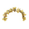 Apurva Pearl Floral Design Yellow Hair Brooch - 1502230B