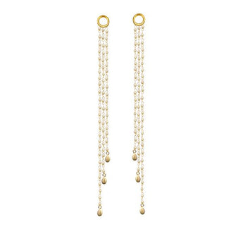 Kriaa Gold Plated Pearl Kan Chain - 1503319