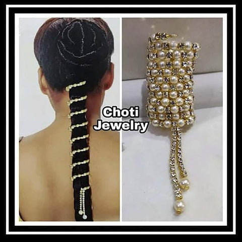 Apurva Pearls Hair Choti Paranda Jewellery