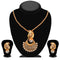Soha Fashion White Austrian Stone Pendant Set