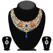 Soha Fashion Multicolour Stone Kundan Necklace Set - 2200701