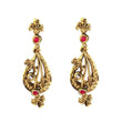 The99Jewel Austrian Stone Gold Plated Dangler Earring - 1307314