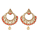 Kriaa Kundan Gold Plated Stone Dangler Earring