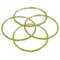 Kriaa Green Gold Plated Set Of 4 Bangle Sets