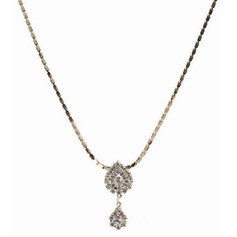 Urthn Austrian Stone Gold Plated Necklaces - 1102415