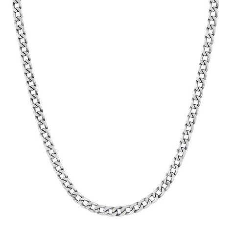 Urthn Silver Plated Chain Necklace For Mens - 1204110