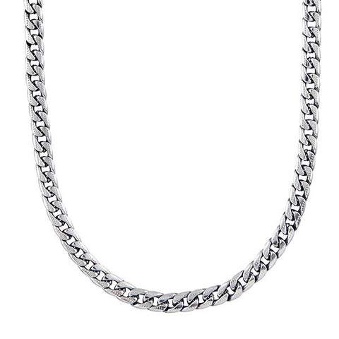 Urthn Silver Plated Chain Necklace For Mens - 1204111