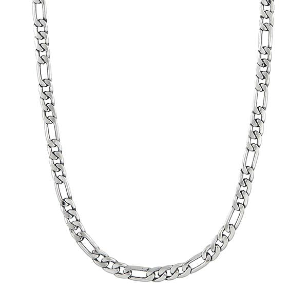 Urthn Silver Plated Chain Necklace For Mens - 1204112