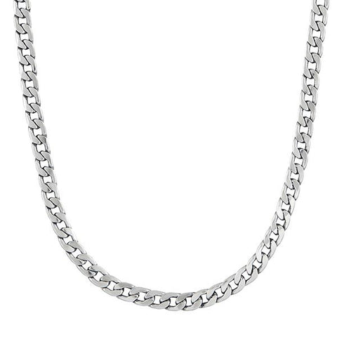 Urthn Silver Plated Chain Necklace For Mens - 1204113