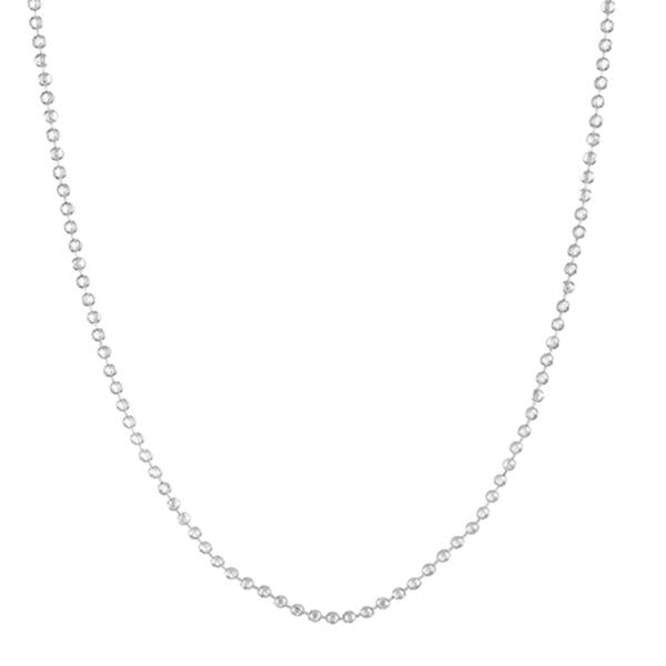 Urthn Silver Plated Chain Necklace For Mens - 1204115