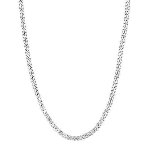 Urthn Silver Plated Chain Necklace For Mens - 1204117