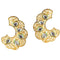 Tip Top Fashions Kundan Meenakari Gold Plated Dangler Earrings - 1305007