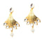 Aurum Kundan Gold Plated Dangler Earrings - 1305016
