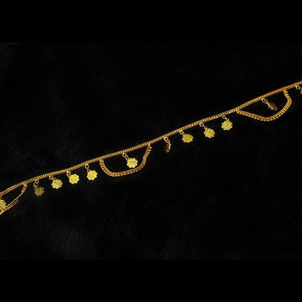 Mahavir Gold Plated Chain Kamarband - DK A-18 KANDORA