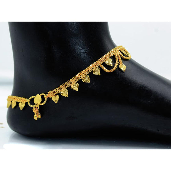 Mahavir Gold Plated Payal - DK B-20 PAYAL