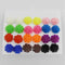 14Fashions Multicolor 12 Pair of Stud Earrings Sets - 1309201