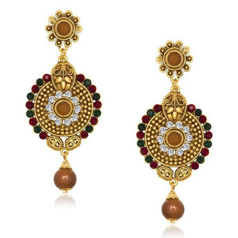 The99Jewel Austrian Stone Dangler Earring - 1305513