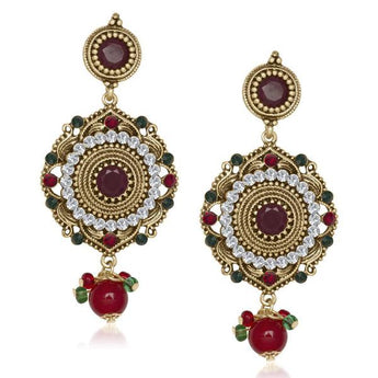 The99Jewel Austrian Stone Dangler Earring -1305514