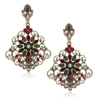 The99Jewel Austrian Stone Dangler Earring -1305516