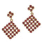 The99Jewel Austrian Stone Gold Plated Dangler Earring - 1306725