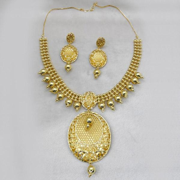 Neu Gold Forming Gold Plated Copper Necklace Set - 1107864