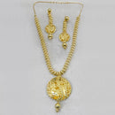 Neu Gold Forming Gold Plated Copper Necklace Set - 1107866