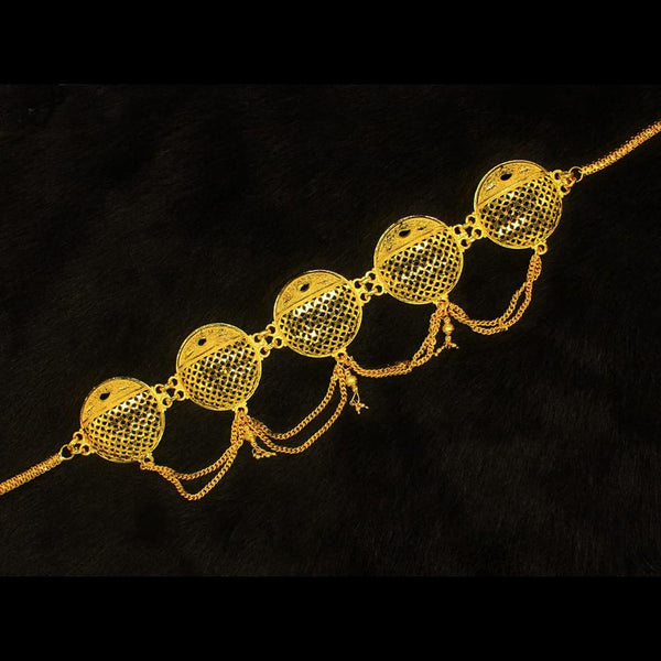 Mahavir Gold Plated Chain Kamarband - JR 10 KANDORA
