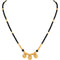 Asmitta Stylish Pattern Beads Mangalsutra - M142RRGLDA7