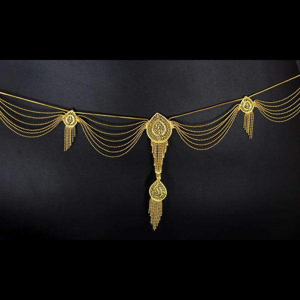 Mahavir Gold Plated Chain Kamarband - MOH 1 KANDORA