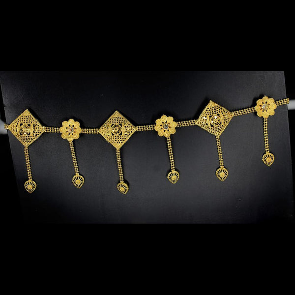 Mahavir Gold Plated Chain Kamarband - MOH VB 19 KANDORA