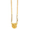 Martina Jewels Gold plated Black Beads Pack Of 6  Mangalsutra