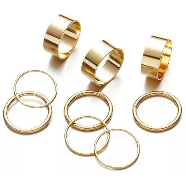NitAgni Gold Bands  Rings