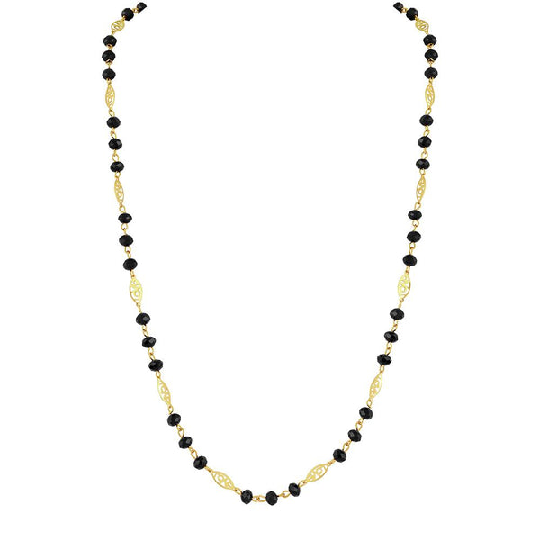Asmitta Traditional Beautifully Design Necklace Mala - NM440SKGLDJ8