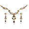 The99Jewel Gold Plated Austrian Stone Necklace Set