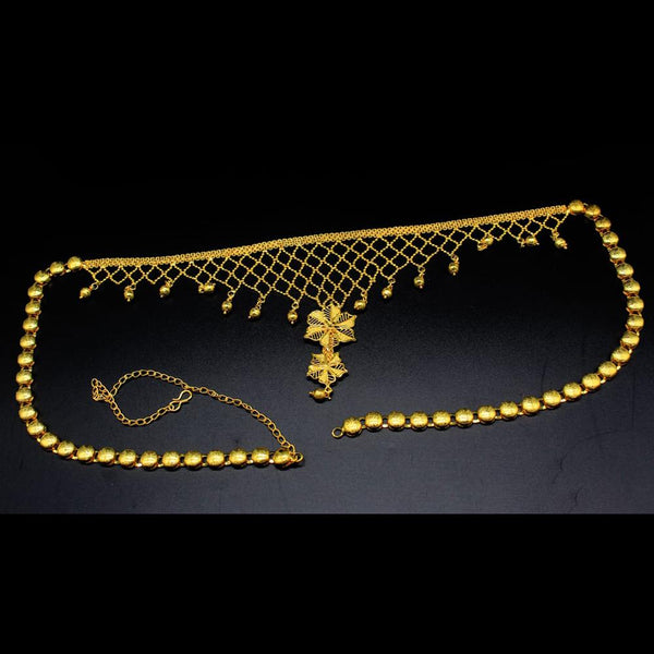 Mahavir Gold Plated Chain Kamarband - SVI K-50 KANDORA