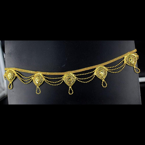 Mahavir Gold Plated Chain Kamarband - SVI K-59 KANDORA