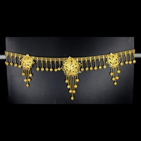 Mahavir Gold Plated Chain Kamarband - SVI K 64 KANDORA