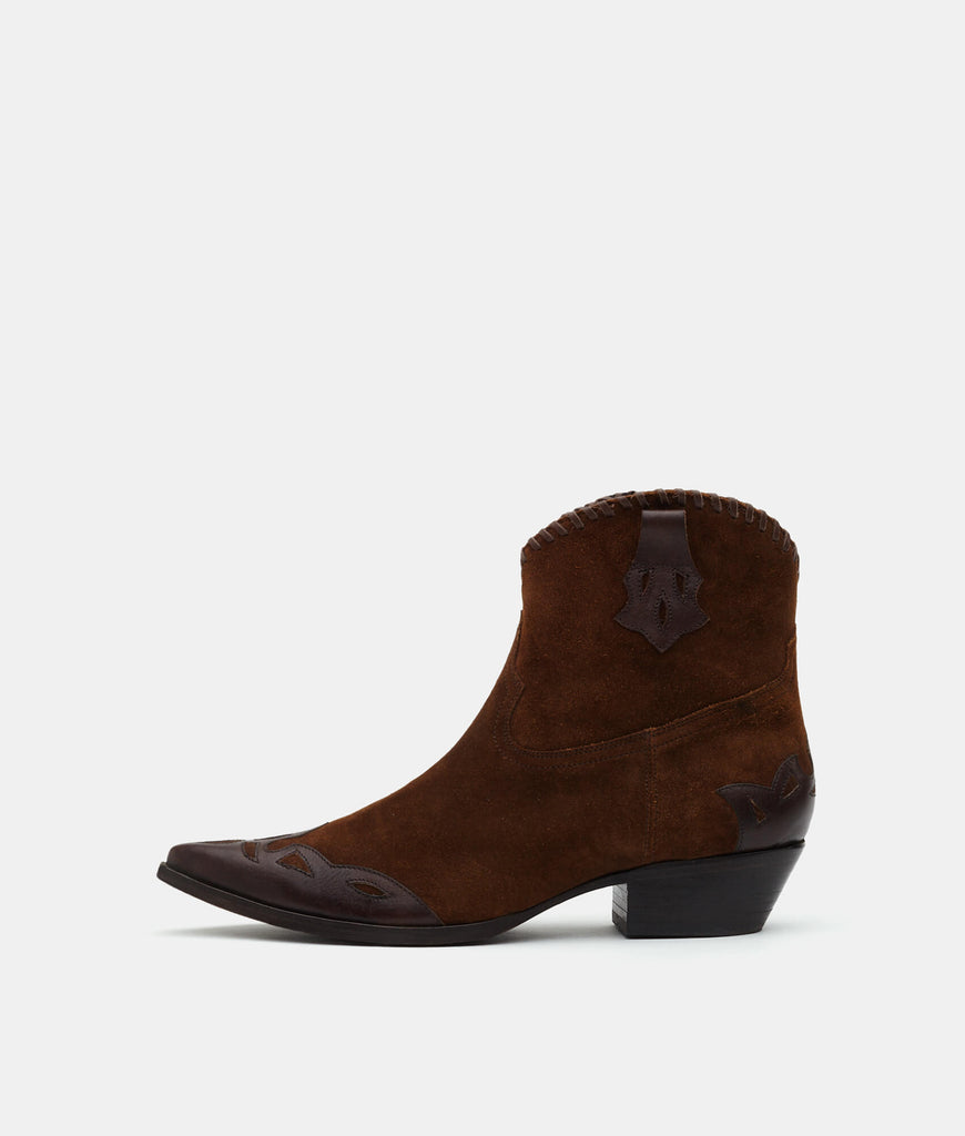 Brown Suede - Hailey