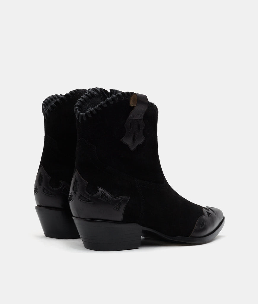 Black Suede - Hailey