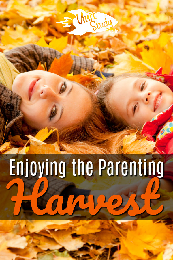 Just like raising a stand of fruit trees (or maple trees, pecan trees, etc.), so goes the way of raising a child. #homeschool #homeschooling #parenting #hsmommas