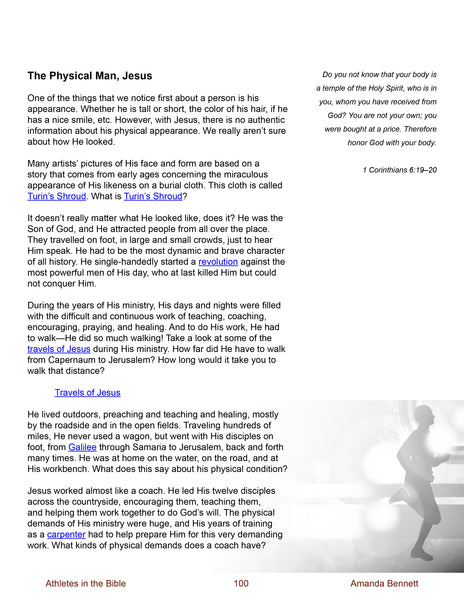 Athletes in the Bible