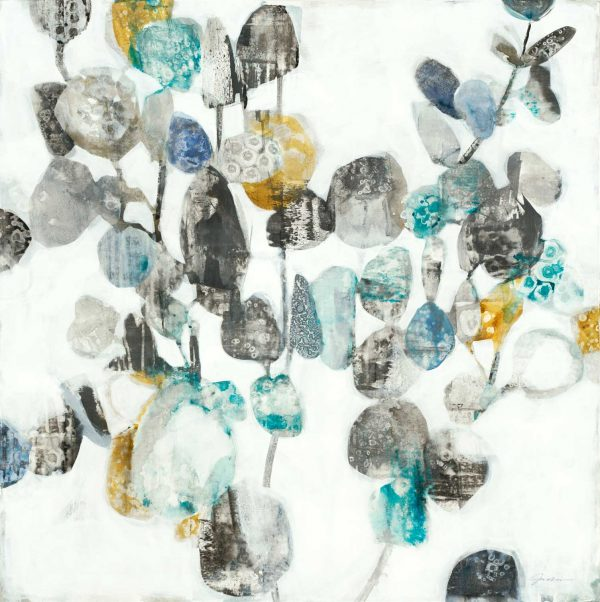 Silver Dollars by Liz Jardine | Liquid Acrylic Art