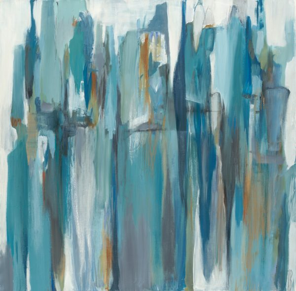 Blue Granite by Terri Burris | Liquid Acrylic Art