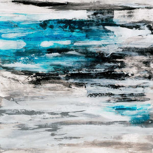 Blue Drift by Jeff Iorillo | Liquid Acrylic Art