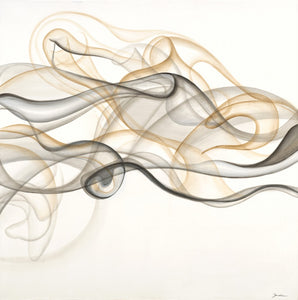 Smoke Signals by Liz Jardine | Liquid Acrylic Art