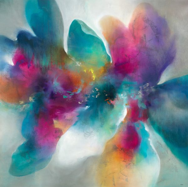 Azalea Spectrum by K. Nari | Liquid Acrylic Art