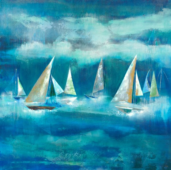 Wind of the Sea by K. Nari | Liquid Acrylic Art
